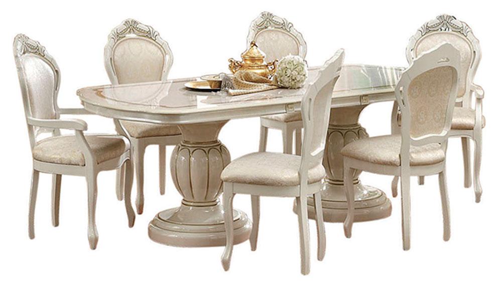 Leonardo dining classic formal dining sets dining room for Leonardo s dining room
