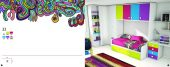 Collections Joype Kids Bedrooms, Spain Composition 23