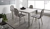Nadia 120 Table  & Ninfa Chair