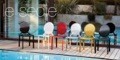 Collections Unico Tables and Chairs, Italy RONDO CHAIRS